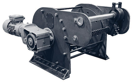 Order Nabrico Aluminum Electric Anchor Winches from Byrne, Rice and Turner